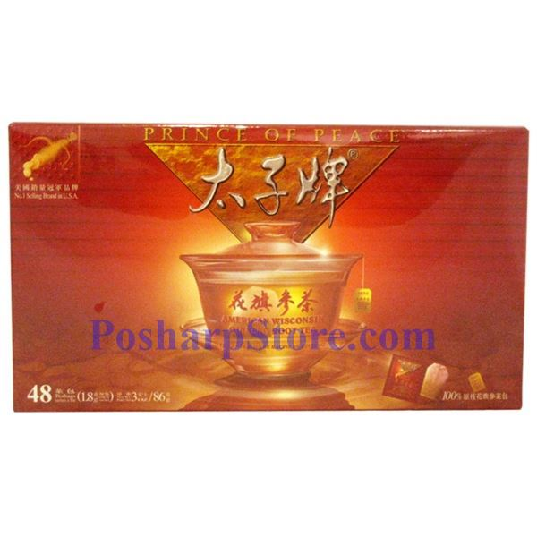 Picture for category Prince of Peace® American Wisconsin Ginseng Root Tea 48 Teabags