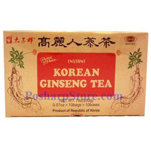 Picture for category Prince of Peace® Instant Korean Ginseng Tea 7 oz