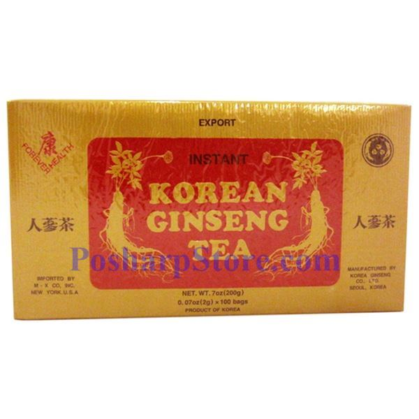 Picture for category Forever Health Instant Korean Ginseng Tea 7 oz