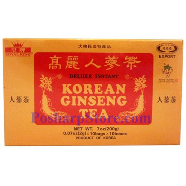 Picture for category Royal King Deluxe Instant Korean Ginseng Tea 7oz