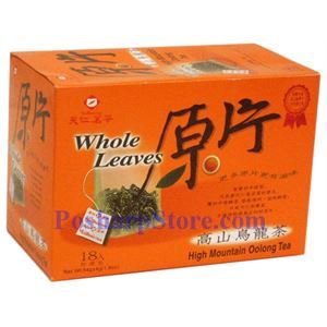 Picture of Tenren High Mountain Oolong Wholse leaves Tea With 18 bags