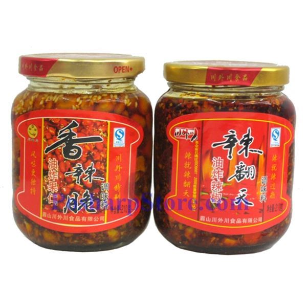 Picture for category Chuan Wai Chuan Crispy  Spicy Mixed Nuts in Oil