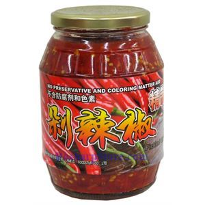 Picture of Lameizi Hunan Style Chopped Pickled Red Chili Peppers (Duolajiao) 2.3 Lbs