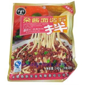 Picture of Chengdu Santapai Classic Bean Meat Mixed Sauce for Noodles