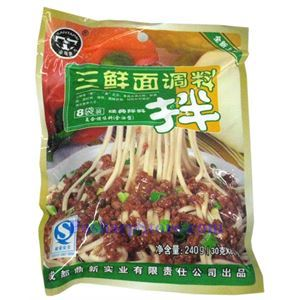 Picture of Chengdu Santapai Classic Seafood  Sauce for Noodles