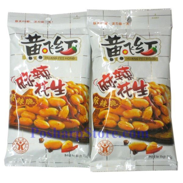 Picture for category Huang Fei Hong Mala Spicy Peanuts