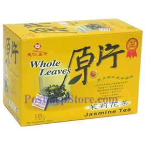Picture of Tenren Jasmine Tea Whole leaves Tea With 18 bags