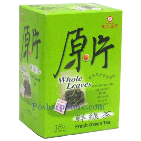 Picture for category Tenren Fresh Wholse Leave Green Tea  With 18 Bags