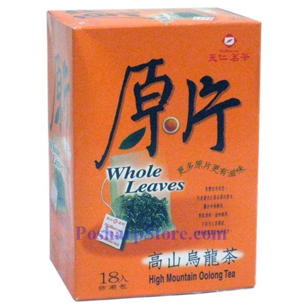 分类图片 天仁茗茶原片高山乌龙茶 18袋装