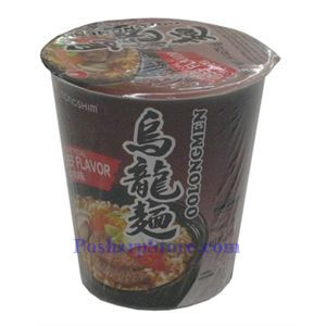 Picture of Nong Shim OolongMen Cup Noodle Soup with Artificial Beef Flavor