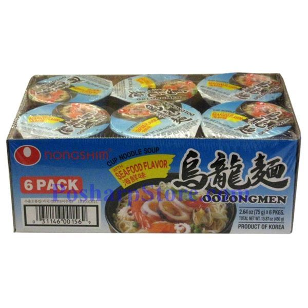 Picture for category Nong Shim OolongMen Cup Noodle Soup with Seafood Flavor