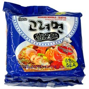 Picture of Paldo Korean Noodle with Seafood Flavor