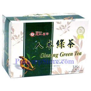 Picture of Tenren  Ginseng  Green Tea With 18 Bags