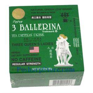 Picture of 3 Ballerina Tea Dieters Drink Regular Three Queens 30 Teabags
