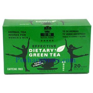 Picture of Royal King  Effective Dietary Green Tea Extra Strength 18 Teabags