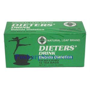 Picture of Natural Leaf Brand   Dieters' Drink 12 Teabags
