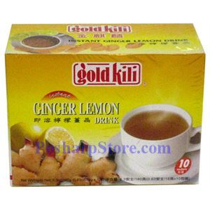 Picture of Gold Kili Instant Ginger Lemon Tea