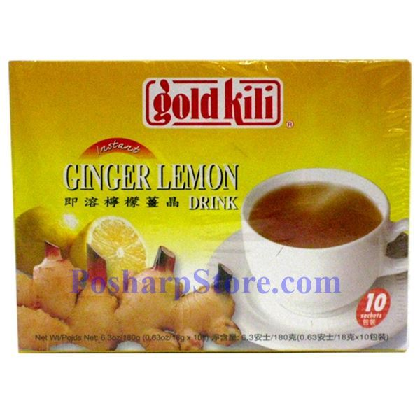 Picture for category Gold Kili Instant Ginger Lemon Tea