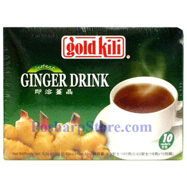 Picture for category Gold Kili Instant Ginger Tea 6.3 oz