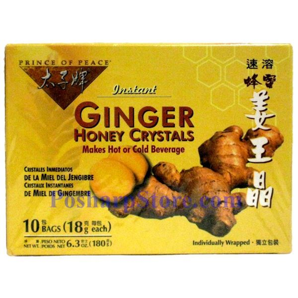 Picture for category Prince Of Peace Instant Ginger Honey Crystals 6.3 Oz, 10 Teabags