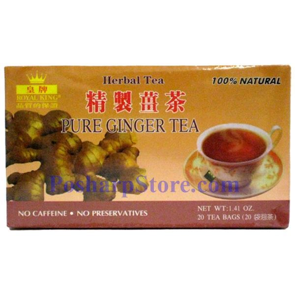 Picture for category Royal King Pure Ginger Herbal Tea