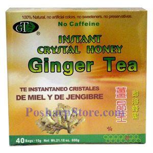 Picture of GT Instant Crystal Honey Ginger Tea 40 Packs