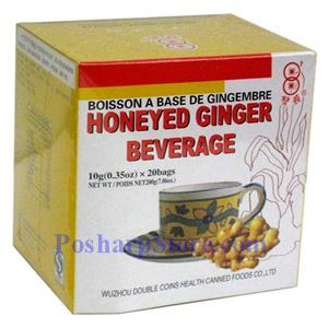 Picture of Double Coins Honeyed Ginger Beverage
