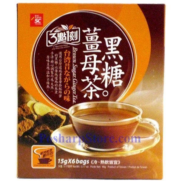 分类图片 3点1刻黑糖姜母茶