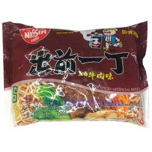 Picture of Nission Five Spices Beef Flavor Instant Noodle