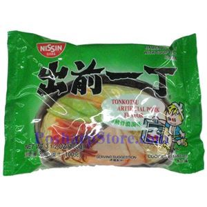 Picture of Nission Tonkotsu Pork Flavor Instant Noodle