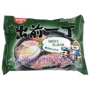 图片 日本出前一丁紫菜酱油汤味方便面