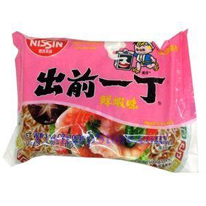 图片 日本出前一丁鲜虾味方便面