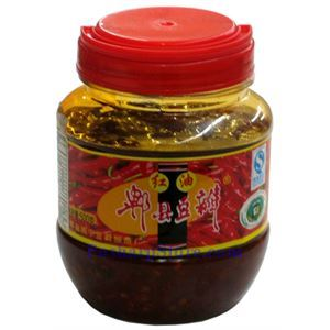 Picture of Sichuan Hongyu Pixian Doubanjiang with Oil (Doubanjiang) 1.1lbs