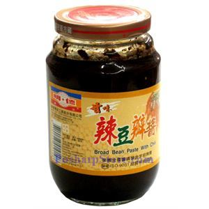 Picture of MingTeh Food Sweet Broad Bean Paste with Chili 1 lb