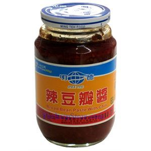 Picture of MingTeh Food Broad Bean Paste With Chili 1 lb