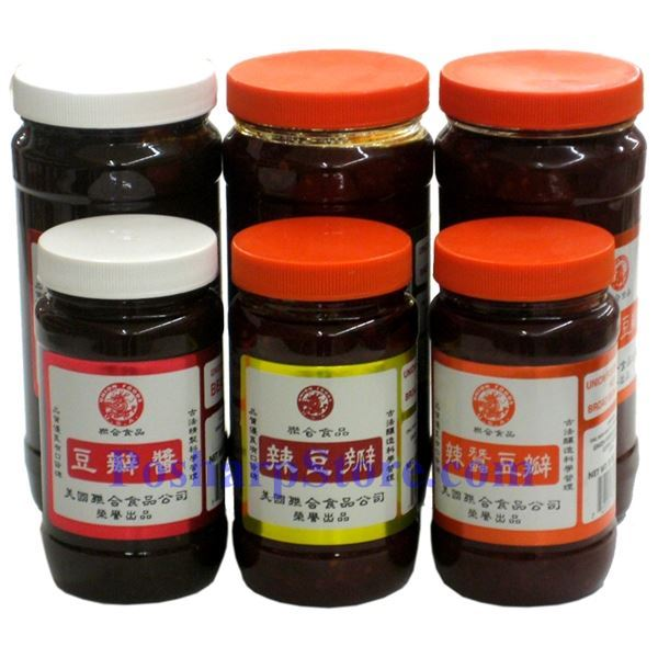 Picture for category Union Food Brand Hot Bean Paste 8 oz