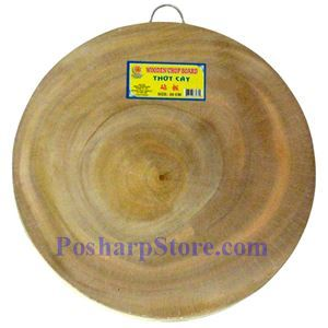 Picture of Vietname Double Sided 15 Inch Round Wooden Cutting Board