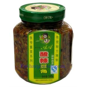 Picture of Chengdu Pao Cai Yidayuan Spicy Pickled Green Bean