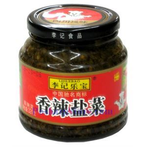 Picture of Chengdu Pao Cai Lijilebao Spicy Salted Mustad Green 11 Oz