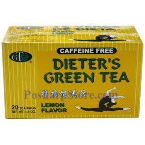 Picture of GT  Dieter's Lemon Flavor Green Tea 20 Teabags