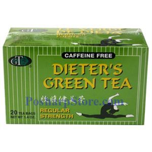 Picture of GT  Dieter's  Green Tea Regular Strength 20 Teabags