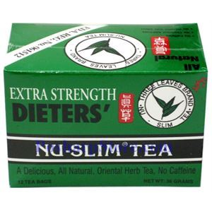 Picture of Three Leaves Brand Dieter's Nu-Slim Tea Extra Strength 12 Teabags