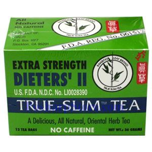 Picture of Bamboo Leaf Brand Dieter's II True-Slim Tea Extra Strength 12 Teabags