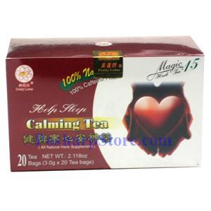 Picture of Pretty Lotus Help Sleep Calming Tea 20 Teabags