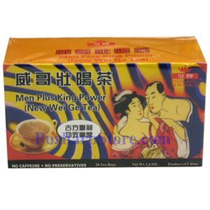 Picture of Royal King Men Plus king Power (Herbal Wei Ge) Tea 20 Teabags