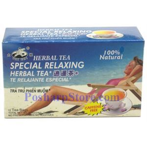 Picture of Tai Chi Special Relaxing Herbal Tea 12 Teabags