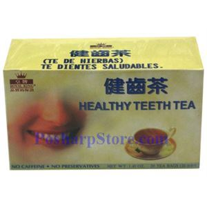 Picture of Royal King Healthy Teeth Tea 20 Teabags