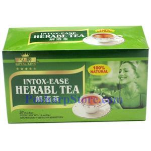 Picture of Royal King Intox-Ease Herbal Tea 20 Teabags