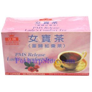 Picture of Royal King PMS Release Lady Comfort Tea 20 Teabags
