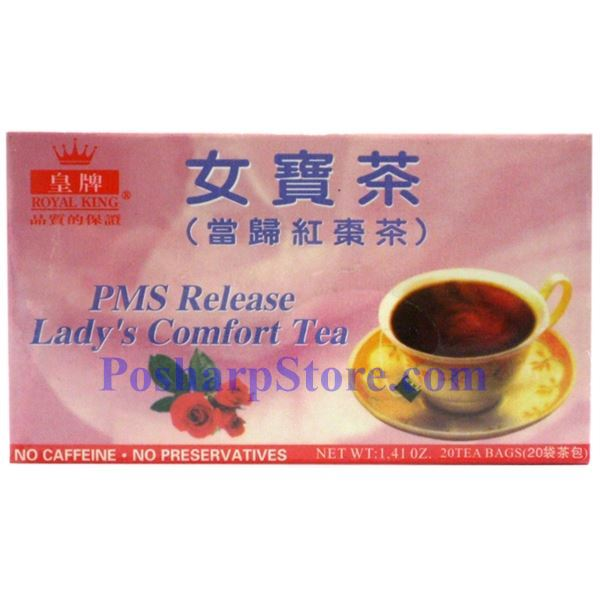 Picture for category Royal King PMS Release Lady Comfort Tea 20 Teabags